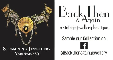 STEAMPUNK JEWELLERY  Now Available