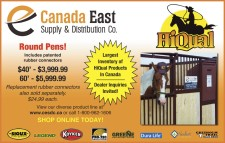Round Pens at Canada East