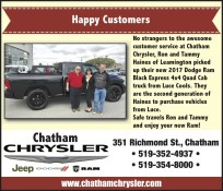 Happy Customers at Chatham Chrysler