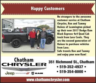 Happy Customers at Chatham Chrysler