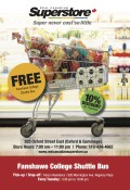 Real Canadian Superstore Offering Shuttle Bus and Student Discount