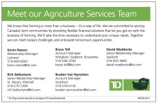 Meet our Agriculture Services Team