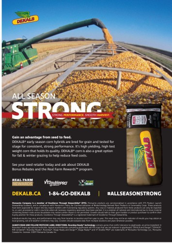 ALL SEASON STRONG STRONG PERFORMANCE. SMOOTH HARVEST.