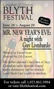 MR. NEW YEAR'S EVE: A night with Guy Lombardo
