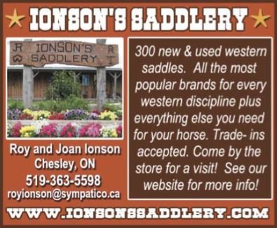 IONSON'S SADDLERY
