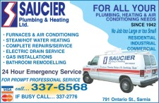 FOR ALL YOUR PLUMBING, HEATING & AIR CONDITIONING NEEDS