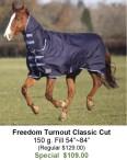 Freedom Turnout Classic Cut