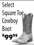 Select Square Toe Cowboy Boot