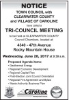 TRI-COUNCIL MEETING  Wednesday, June 28