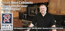 Rick's Custom Cabinets Voted Best Cabinets