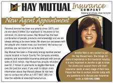 HAY MUTUAL Insurance: COMPANY  Keeping promises, close to home