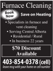 Furnace Cleaning Save on Heating