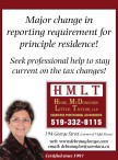 Seek professional help to stay current on the tax changes!