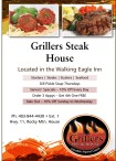 Grillers Steak House  Located in the Walking Eagle Inn