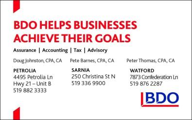 BDO HELPS BUSINESSES ACHIEVE THEIR GOALS