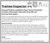 Trainee Inspector