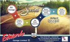 Summer Maintenance Special
