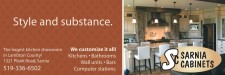 The largest kitchen showroom in Lambton County!