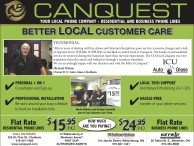CANQUEST is YOUR LOCAL PHONE COMPANY