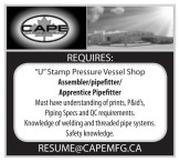 Assembler/pipefitter/ Apprentice Pipefitter