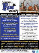 Navan Fair Special Events for 2017