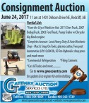 Consignment Auction  June 24, 2017