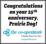 Congratulations on your 25th anniversary, Prairie Dog!