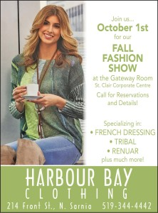 Join Us... October 1st For Our Fall Fashion Show