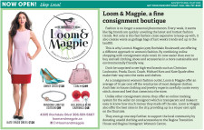 Loom & Magpie, a fine consignment boutique