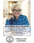 AN AFTERNOON WITH LYNN SPENCE