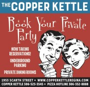 THE COPPER KETTLE:  Book Your Private Party