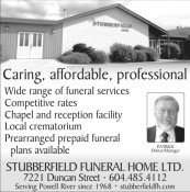 STUBBERFIELD FUNERAL HOME