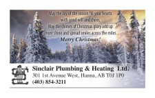 Merry Christmas from Sinclair Plumbing & Heating