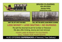 JMT SERVICES BRUSH CLEARING