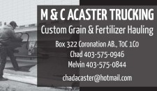 Custom Grain & Fertilizer Hauling