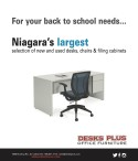 For your back to school needs...  DESKS PLUS OFFICE FURNITURE