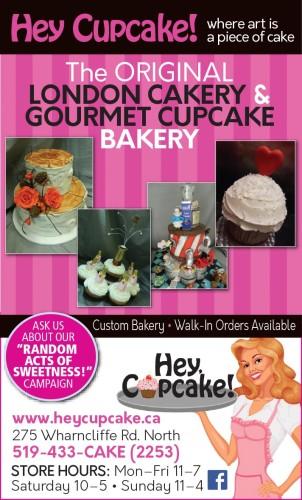 The ORIGINAL LONDON CAKERY & GOURMET CUPCAKE BAKERY