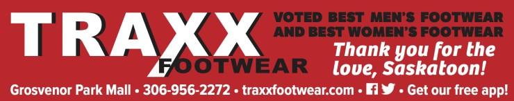 Traxx Footwear Voted Best Men's Footwear And Best Women's Footwear
