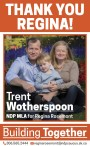 THANK YOU REGINA, from Trent Wotherspoon