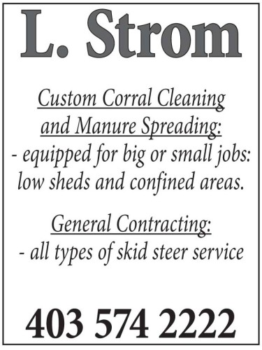 Custom Corral Cleaning and Manure Spreading: