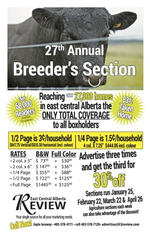 27th Annual Breeder's Section