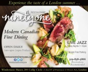 Experience the taste of a London summer...