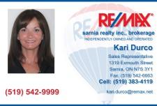 Kari Durco Sales Representative