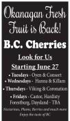 Okanagan Fresh Fruit is Back!
