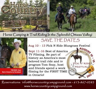 Horse Camping & Trail Riding In The Splendid Ottawa Valley!