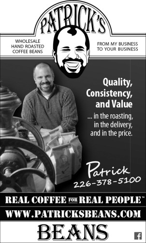 PATRICK'S WHOLESALE HAND ROASTED COFFEE BEANS
