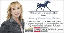 JACQUELINE GUAGLIARDI Harnessing Country Living For You
