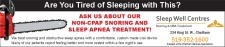 ASK US ABOUT OUR NON-CPAP SNORING AND SLEEP APNEA TREATMENT!