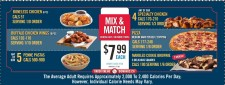 MIX & MATCH with Domino's Pizza
