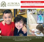 Come to Our Open house! Wednesday, November 1st
